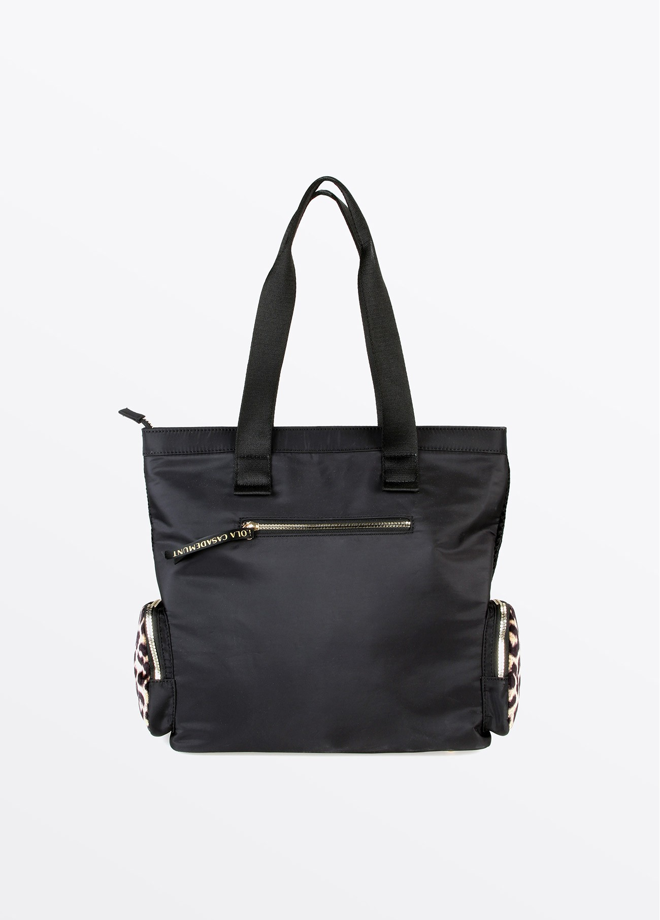Bolso shopper LOVE rejilla, negro 2
