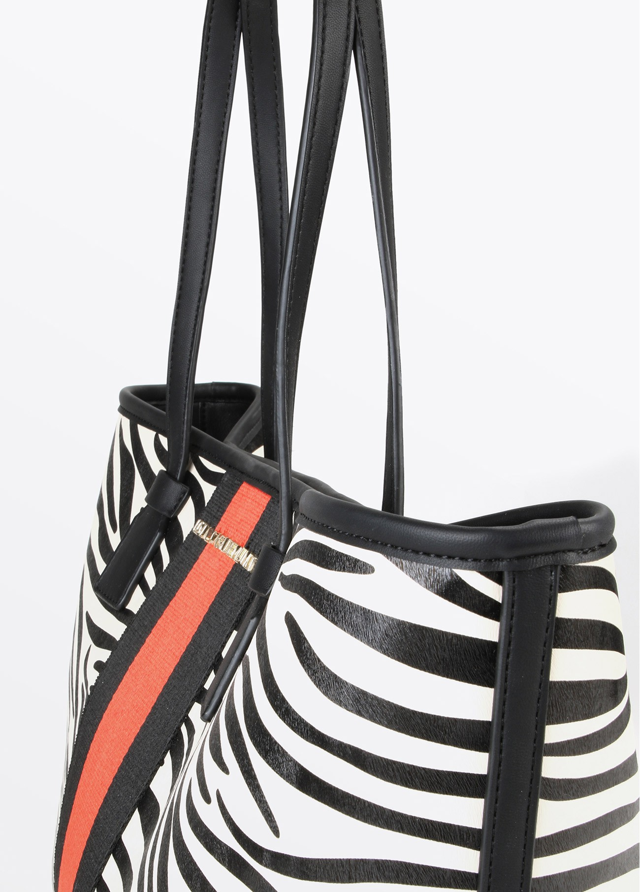 Bolso shopper cebra, estampado