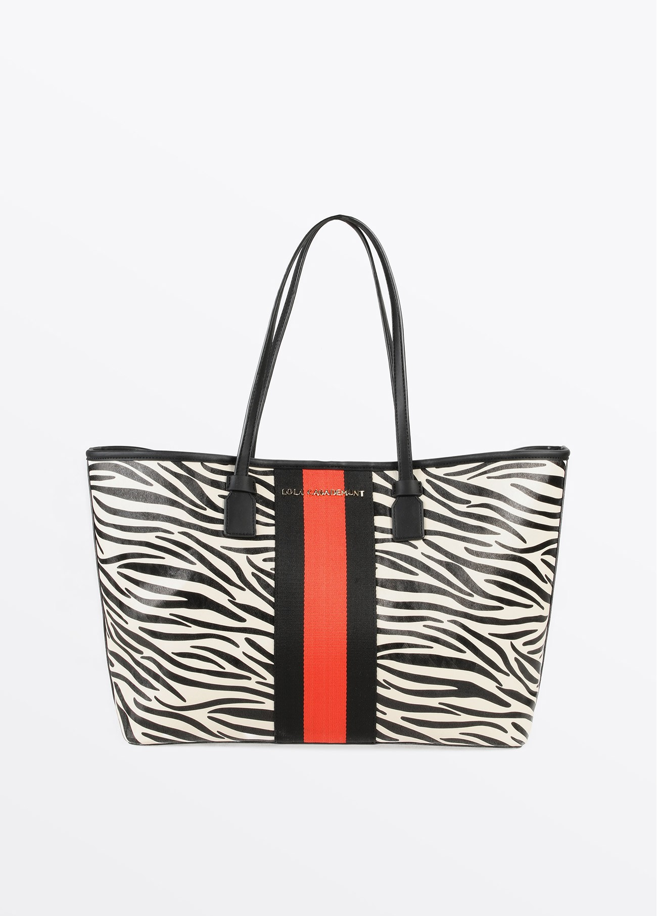 Bolso shopper cebra, estampado 2