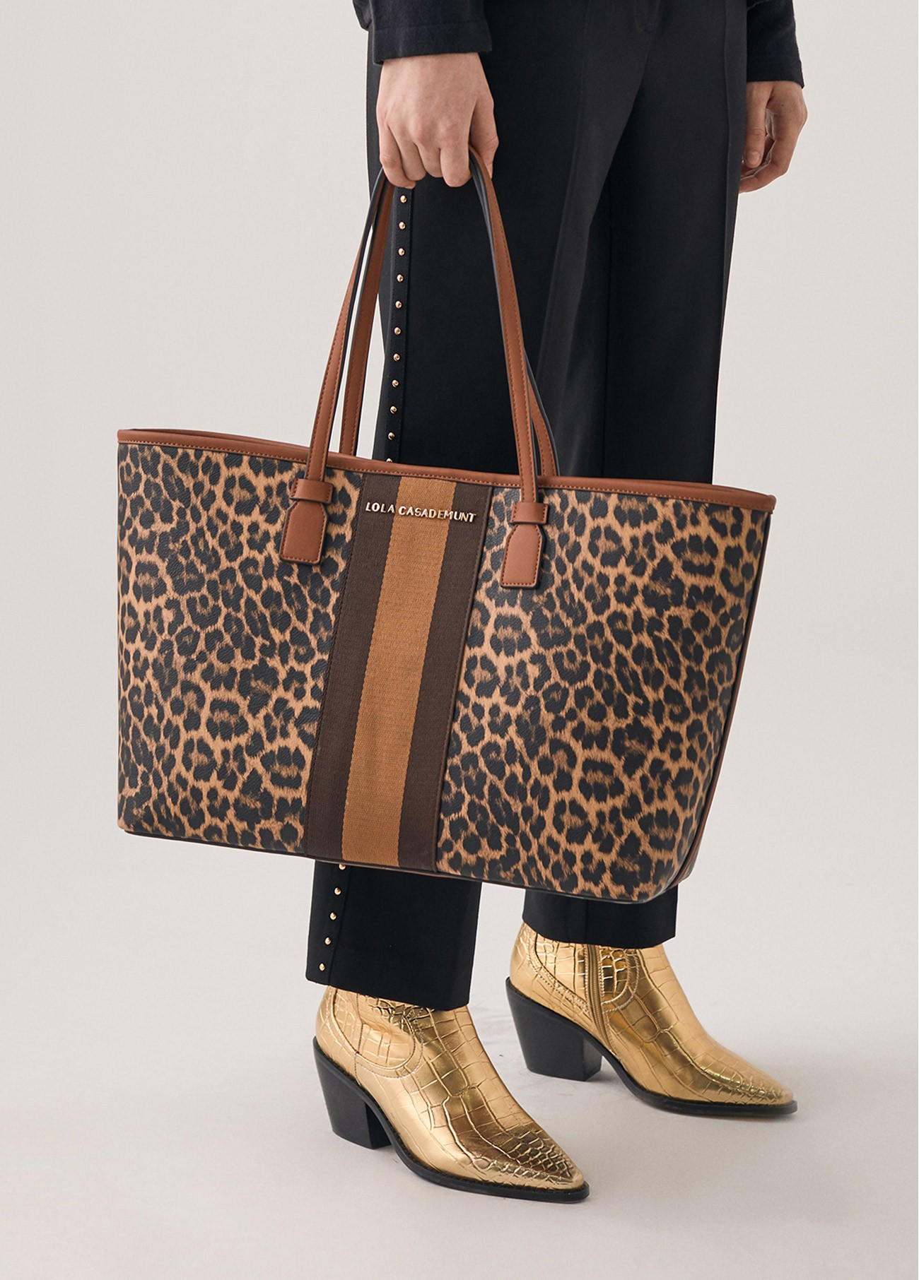 Bolso shopper leopardo, estampado