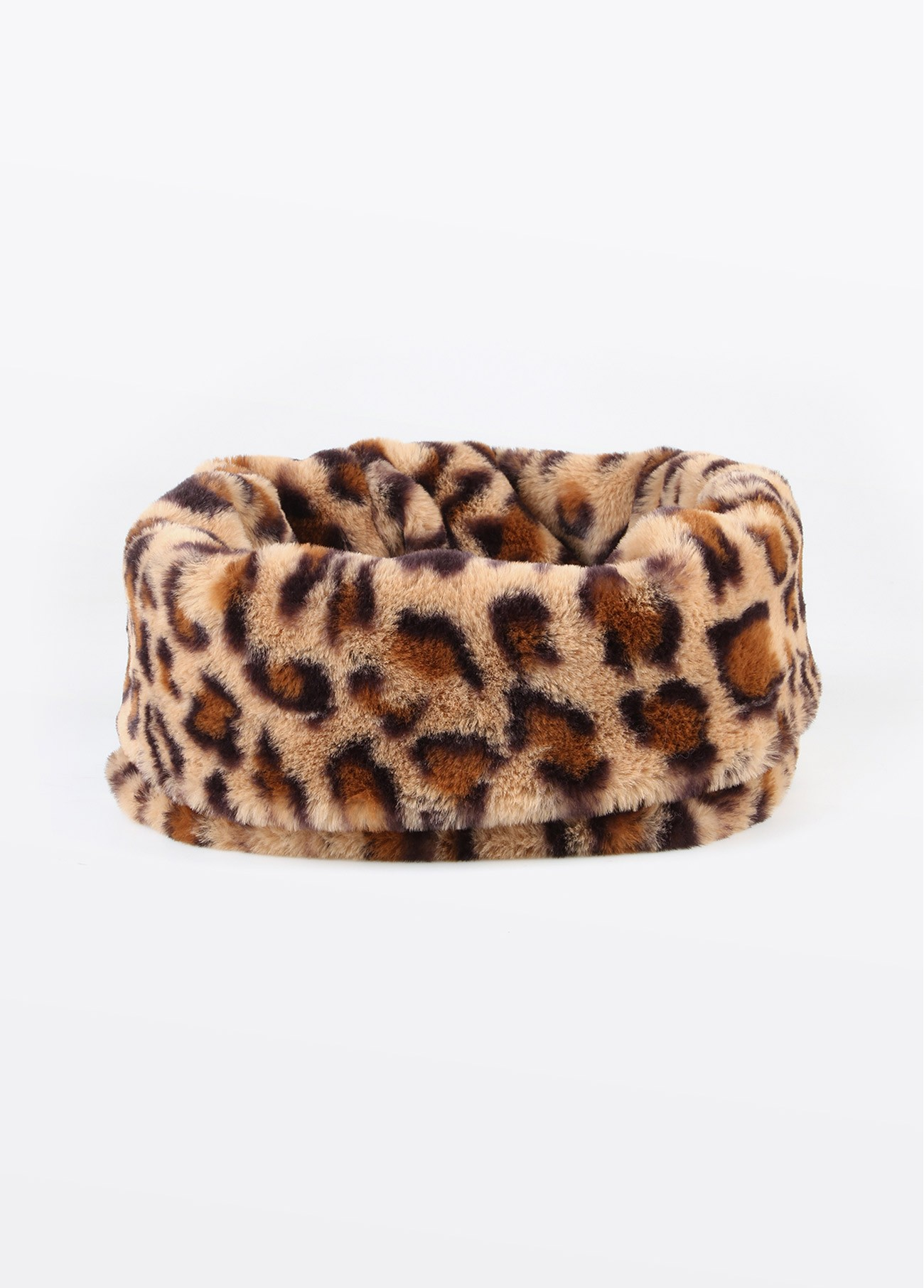 Cuello fake fur leopardo, estampado 2