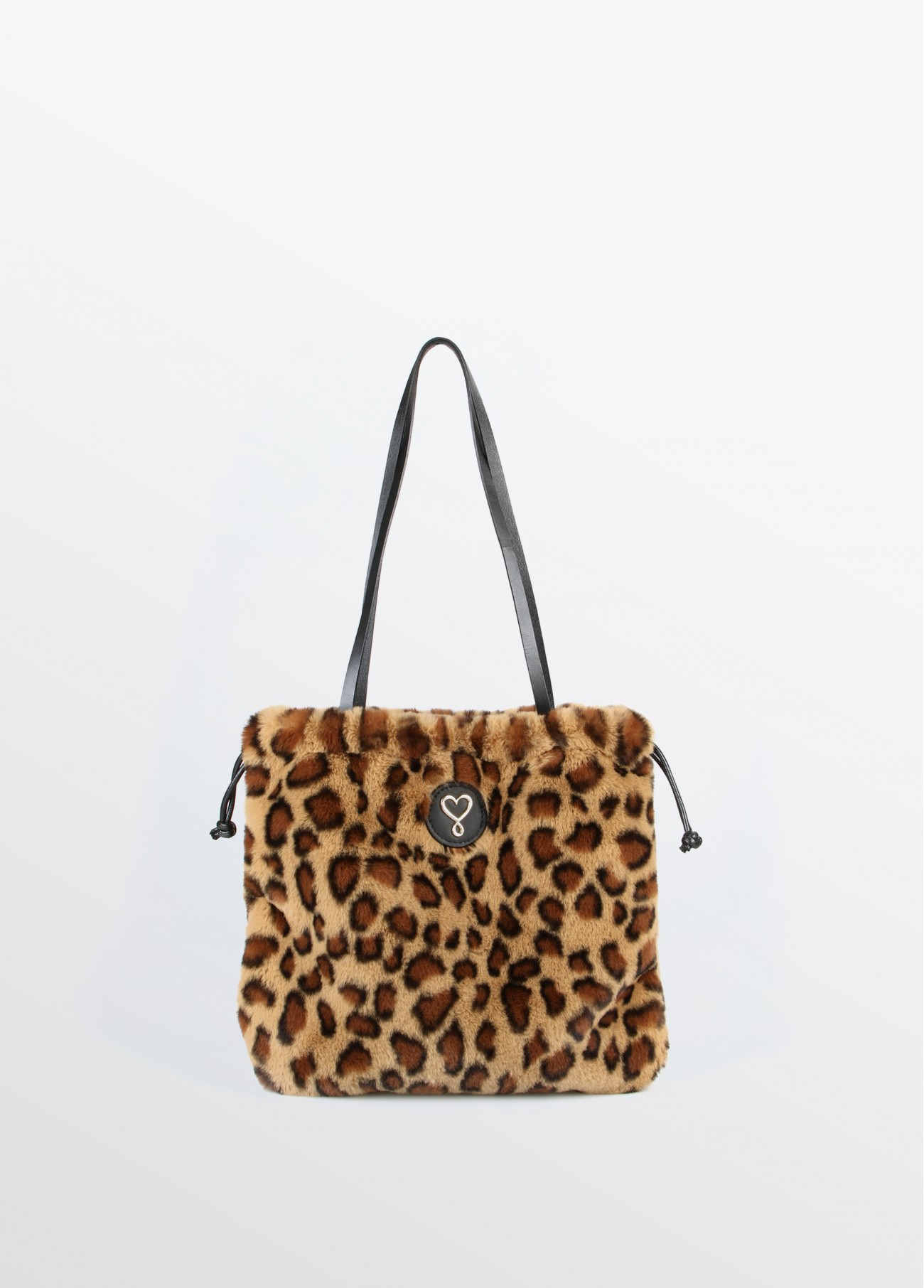 Bolso mini fake fur leopardo, estampado 2