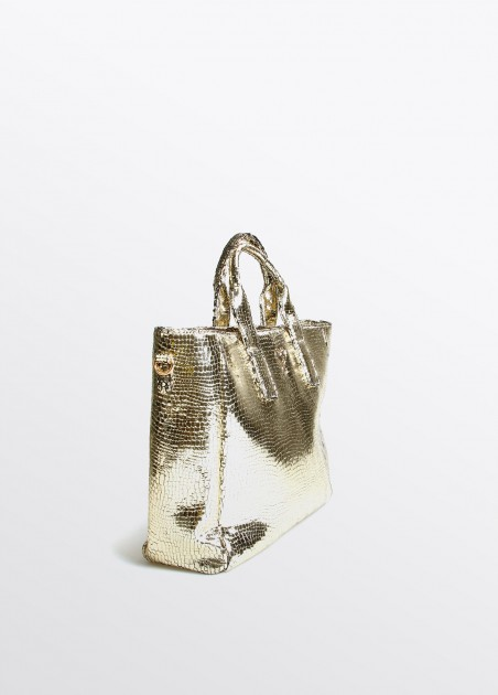 Bolso shopper XL gold... 2