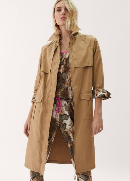 Gabardina trench safari...