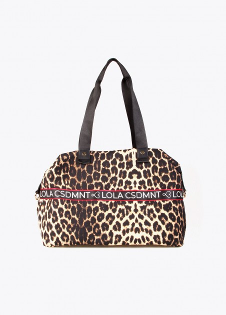 Bolso weekend animal print