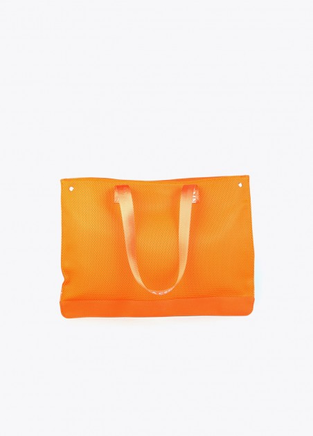 Bolso shopper naranja 2