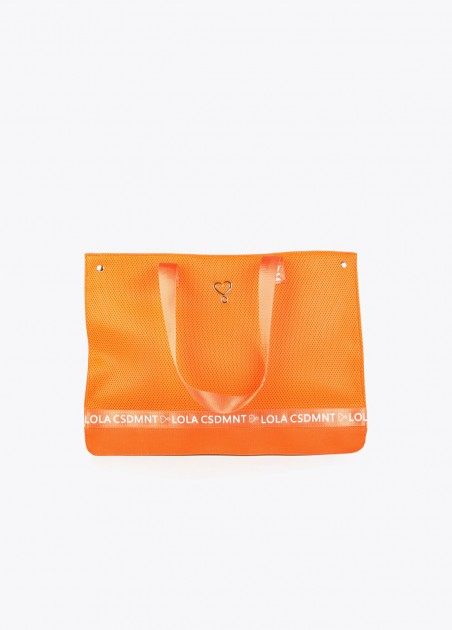 Bolso shopper naranja