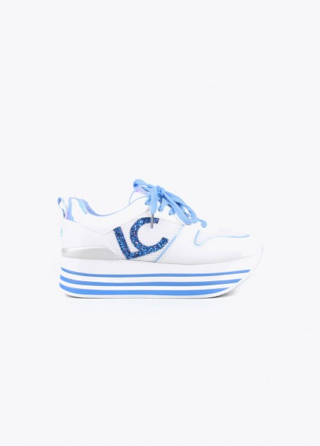 Sneakers bicolores LC