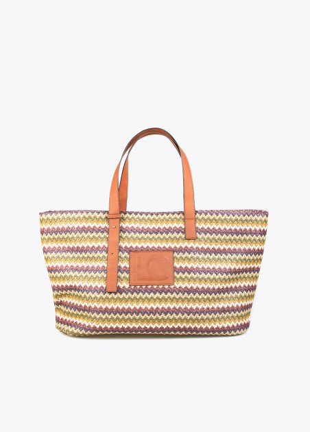 Bolso shopper multicolor...