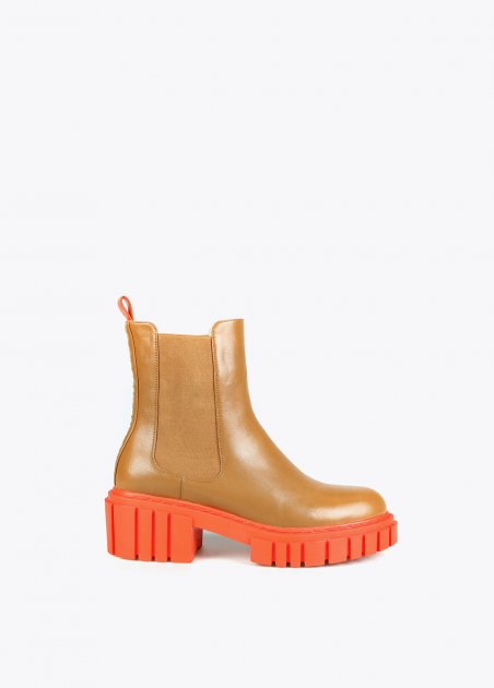 Kamel ankle boot with...