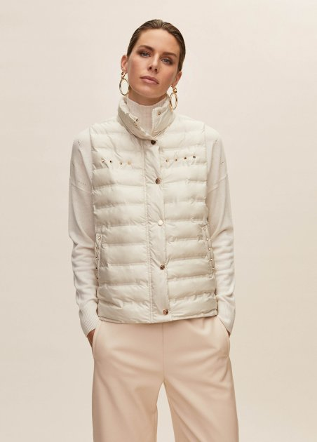 Basic quilted waistcoat...