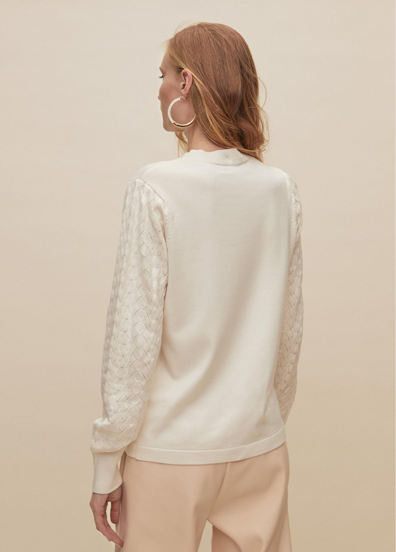 Perkins pull over with fantasie sleeves