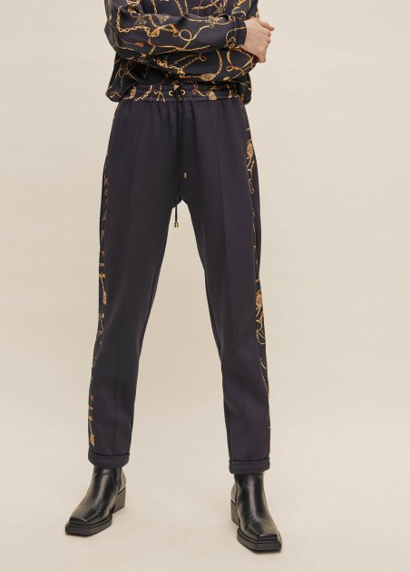 Jogging pant with printed...