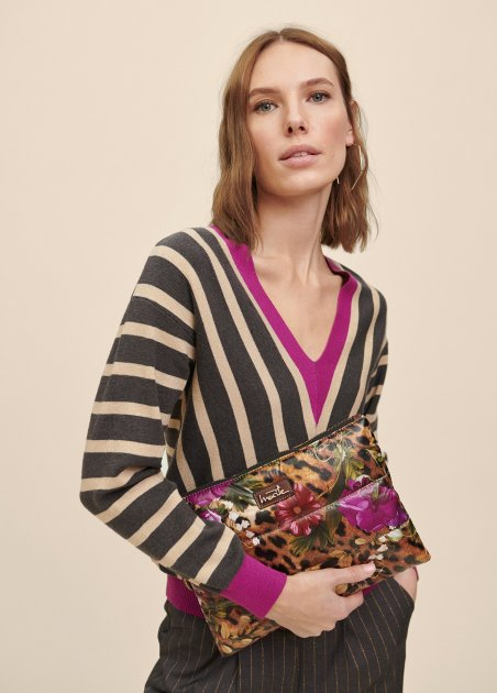VNECK PULL OVER WITH...